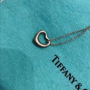 Tiffany&Co heart necklace.